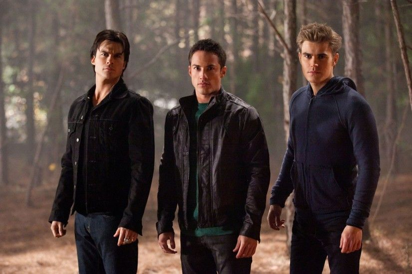 Cut Stefan out and replace him with Klaus in a leather jacket or Alaric in a