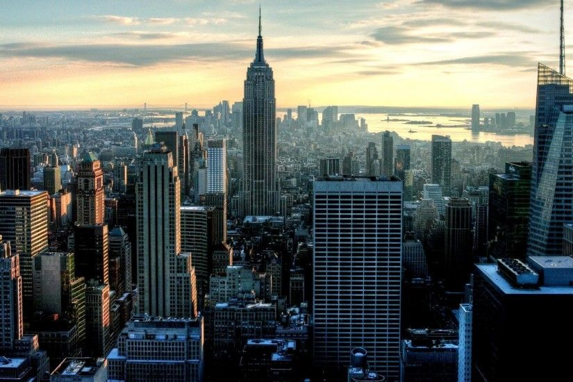new york city empire state building city photography wallpaper hd high  definition windows 10 mac apple colourful images backgrounds download  wallpaper free ...