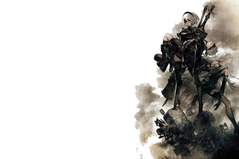 nier automata wallpaper 3840x2160 for pc