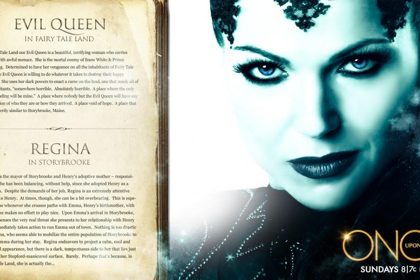 once upon a time season 1 evil queen regina wallpaper | HD Wallpapers