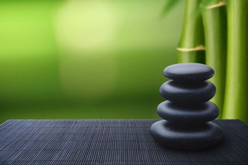 ZEN mood bokeh garden Buddhism religion wallpaper