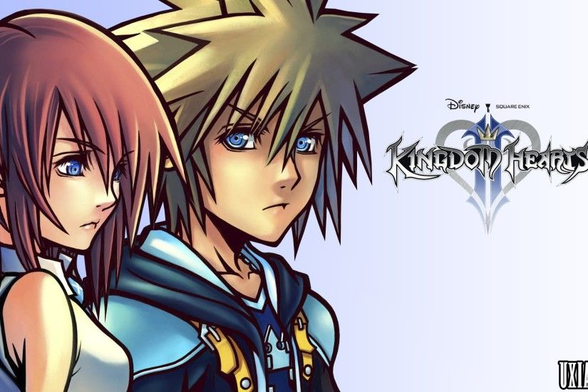 ... Sora and Kairi HD Wallpaper by UxianXIII