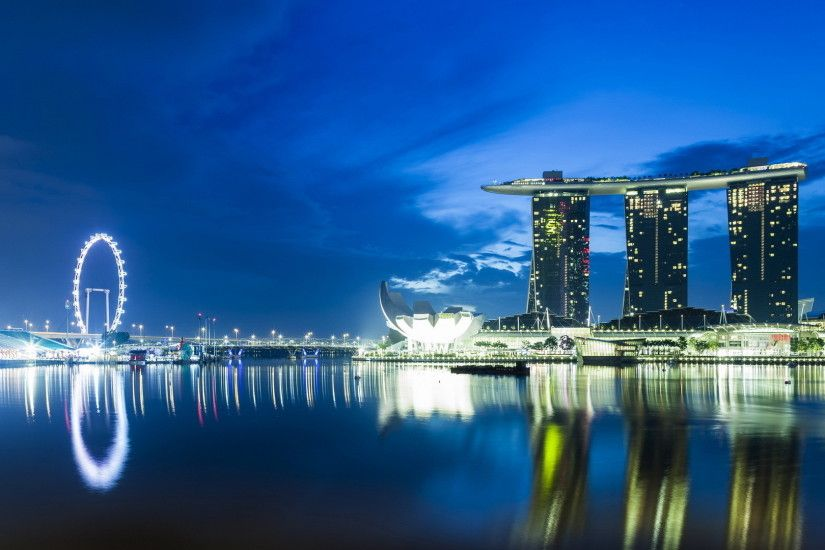 Marina Bay Sands Attraction Wallpaper