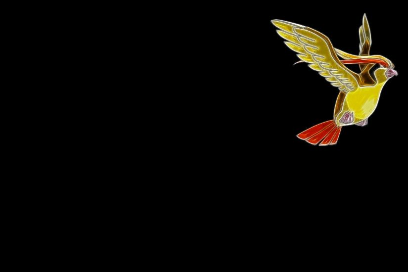 fractalius, birds, simple, black, colourful high definition, background,  background,minimalistic,android, pidgeot, colourful, artworks, apple  Wallpaper HD