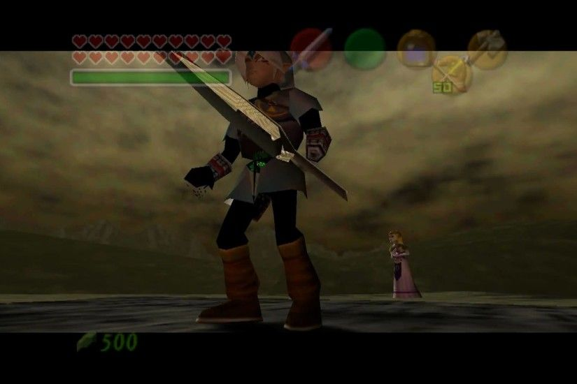 Fierce Deity vs Ganon in The Legend of Zelda: Ocarina of Time / Master  Quest True Widescreen - YouTube