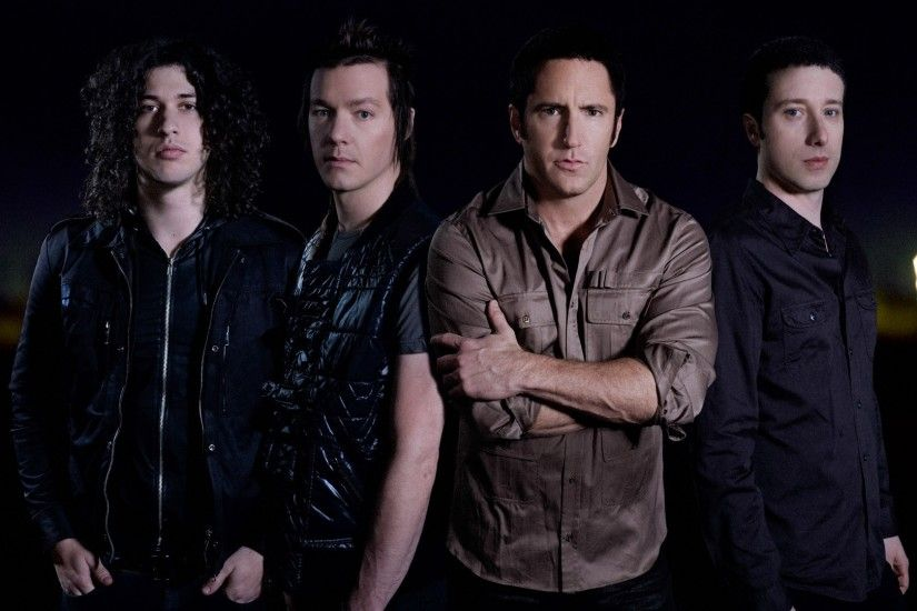 1920x1080 Wallpaper nine inch nails, shirts, band, members, haircut