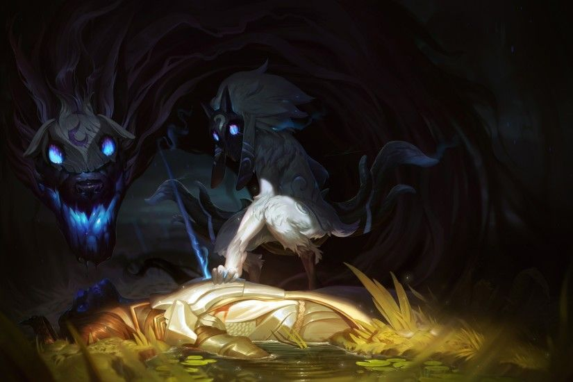 fantasy Art, Kindred, League Of Legends Wallpapers HD / Desktop and Mobile  Backgrounds