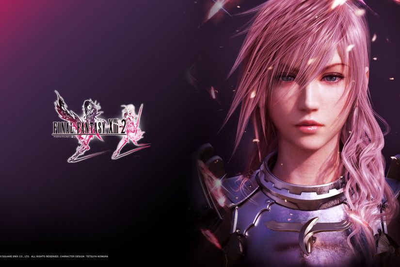 Final Fantasy XIII-2: Lightning Wallpaper Thumbnail 1280×800 · 1280×1024 ·  1920×1200