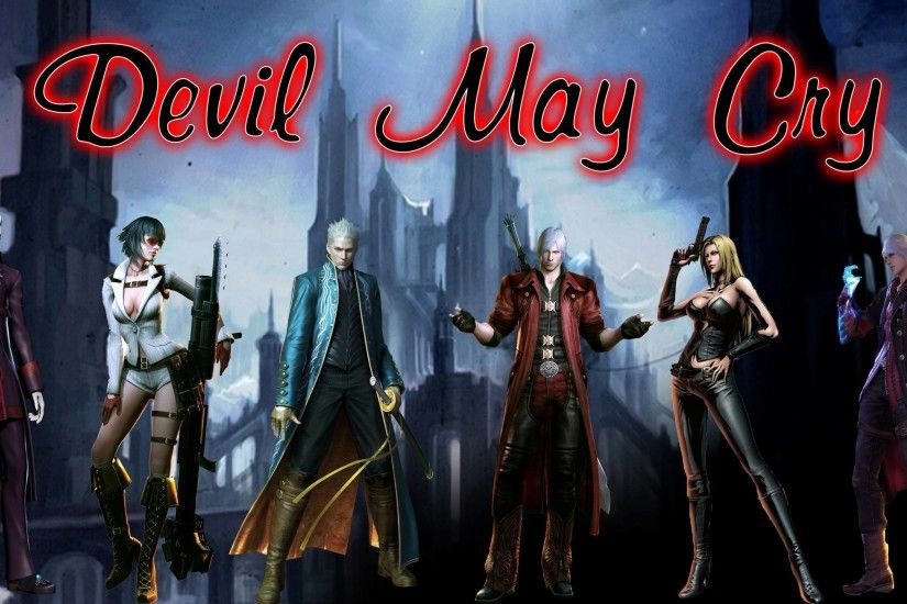Devil May Cry Dmc A Wallpaper Background