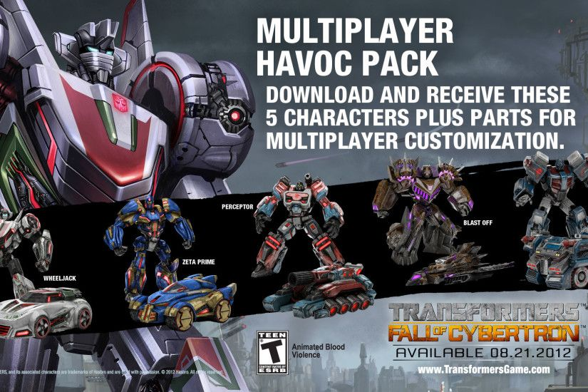 Multiplayer Havoc Pack | Transformers: The Games Wiki | FANDOM powered by  Wikia