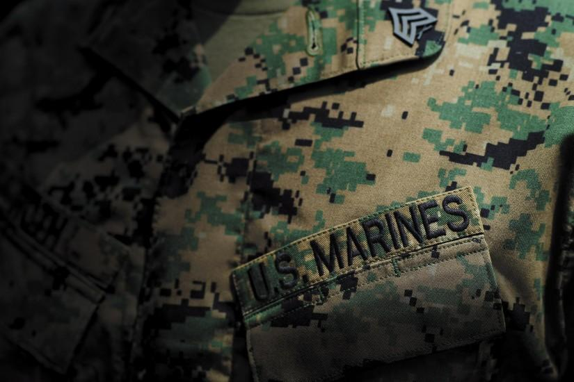 Uniform Camouflage Marines military wallpaper