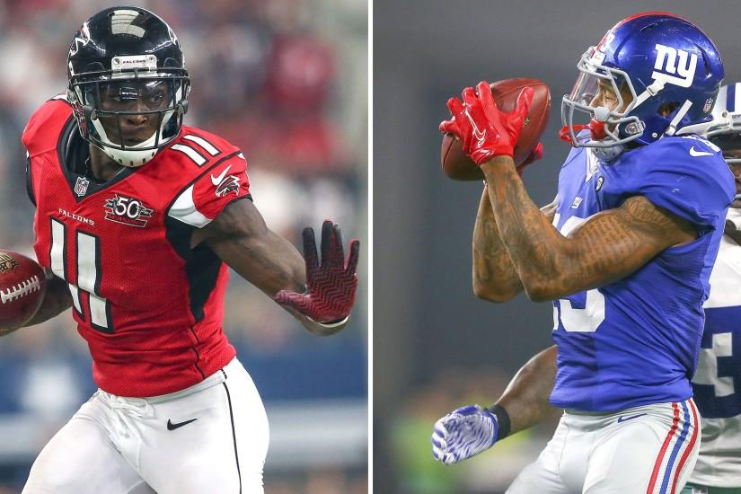 Week 4 Fantasy Football Rankings, WR: Odell Beckham Jr. or Julio Jones? |  Fantasy | Sporting News