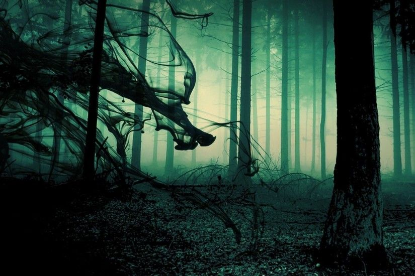 spooky forest background - Google Search