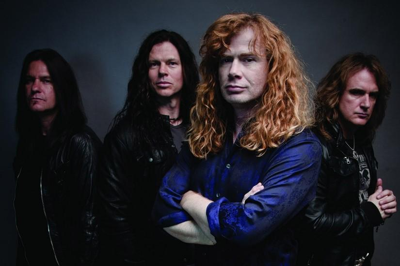 Preview wallpaper megadeth, band, hair, clothes, haircuts 1920x1080