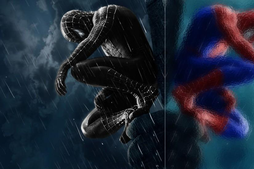 Spiderman 3 Black Suit Wallpaper Spiderman 3 wallpaper.