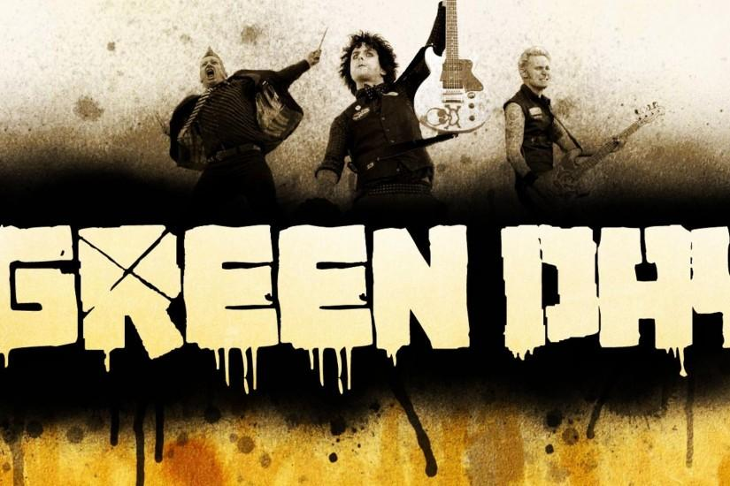 Green Day Rock Band 2013 Music Image Gallery HD Wallpaper Widescreen