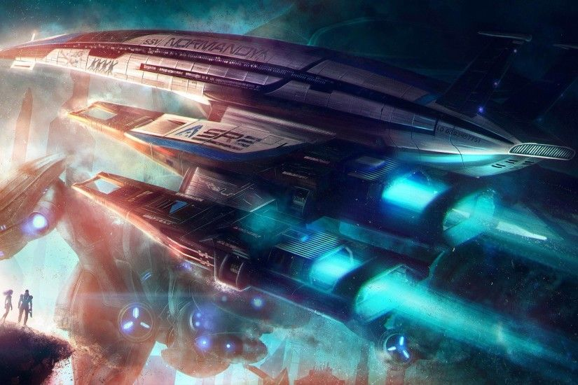 Normandy SR-2 - Mass Effect Wallpaper #
