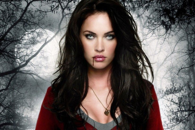 Megan Fox Widescreeen Gothic High Resolution Desktop Background Vampire  Looks Cute Wallpapers Images And Pictures