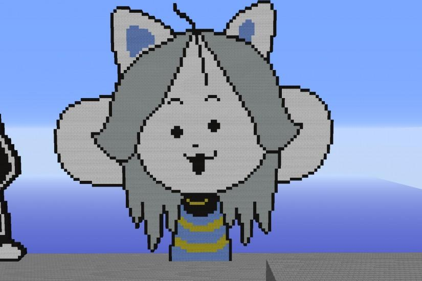 Temmie Pixel Art by dylanlawery Temmie Pixel Art by dylanlawery