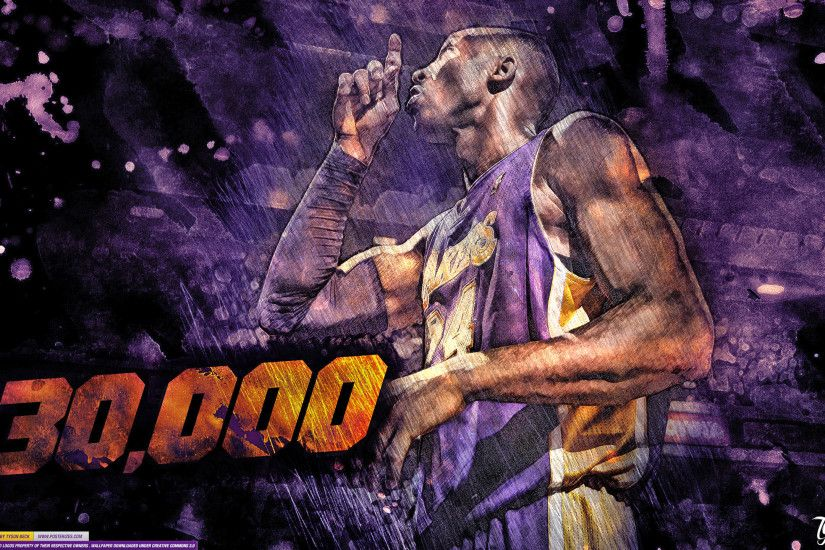 Kobe Bryant – '30,000' (WALLPAPER)