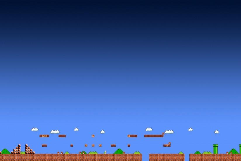 Super Mario, Video Games, Arcade, Pixels, Triple Screen Wallpaper HD