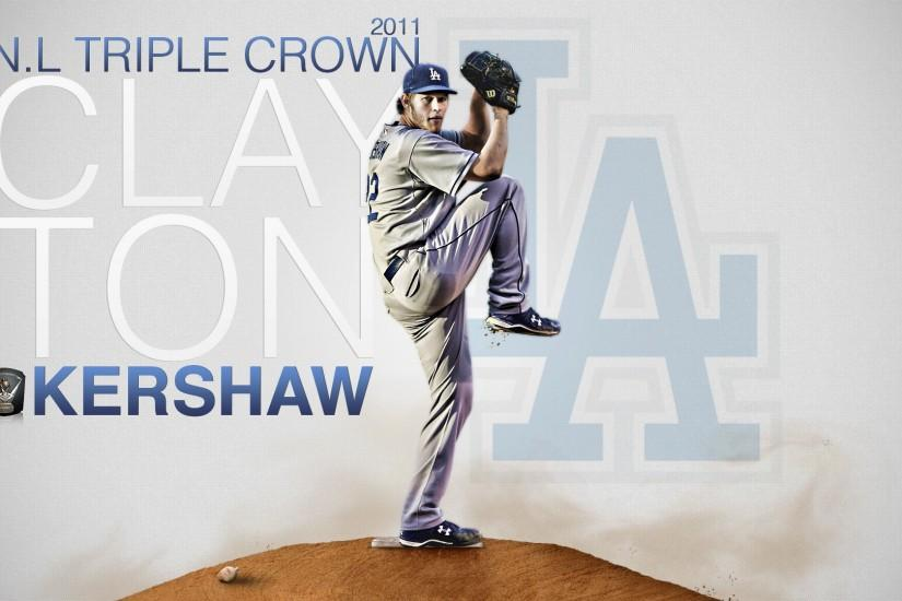 Free Wallpapers - Clayton Kershaw LA Dodgers 1920x1080 wallpaper