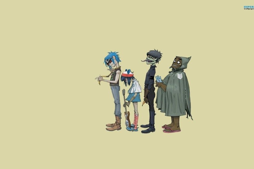 Plastic Beach - Gorillaz wallpaper - Music wallpapers - #