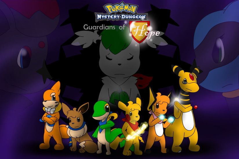 ... Pokemon Mystery Dungeon Guardians of Hope by KurtisTheSnivy