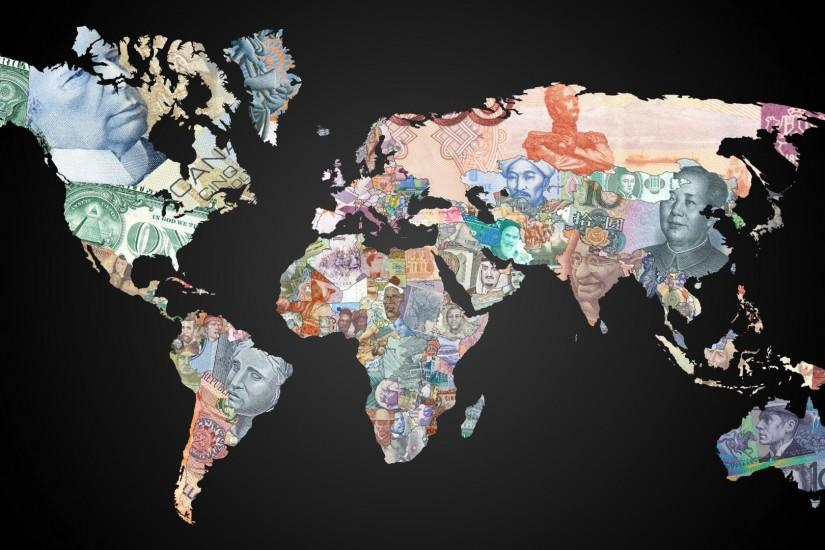 World map background download free stunning high resolution money world map wallpaper hd gumiabroncs Images