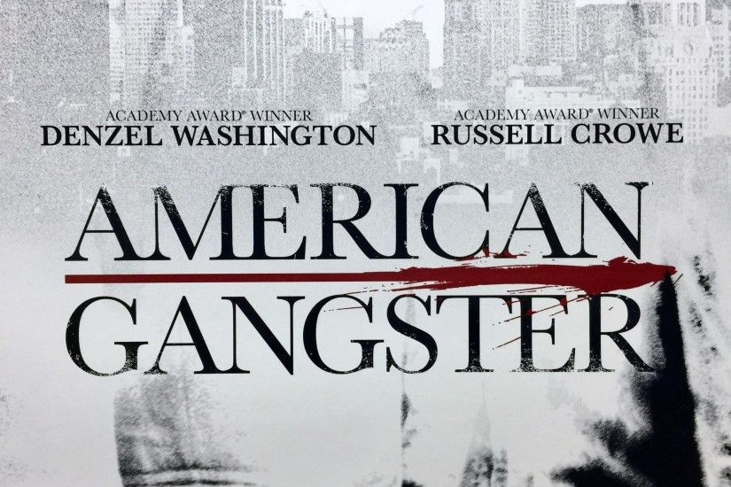 American Gangster CROWE Advance US One Sheet