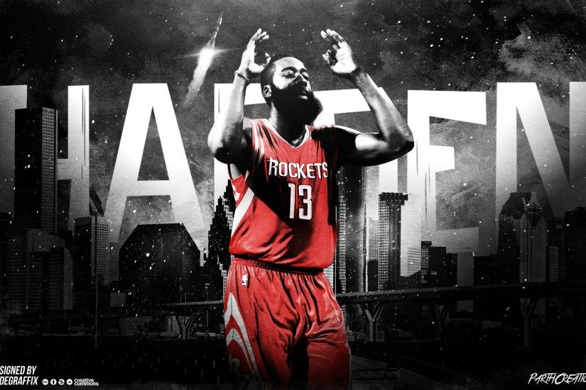 Made a James Harden wallpaper I thought some of you guys might like!