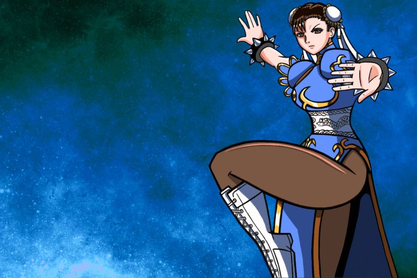 ... Chun-Li Wallpaper by MPPJR