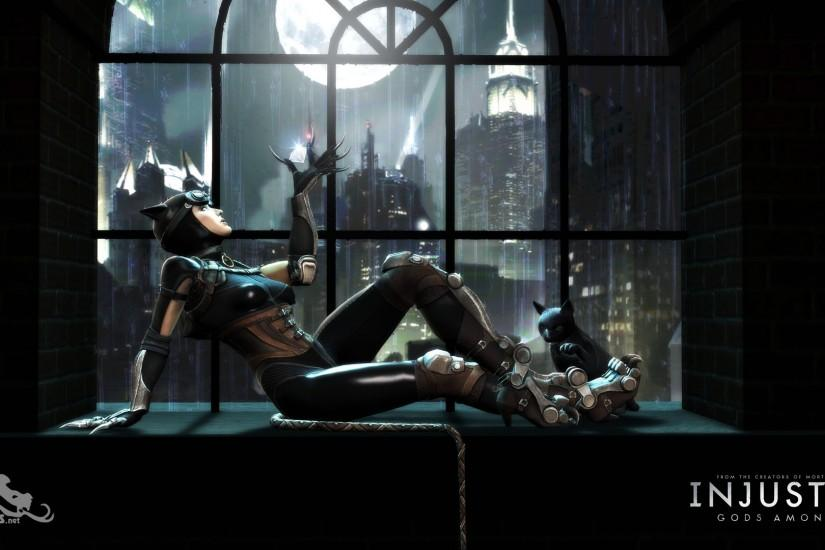 ... Injustice: Gods Among Us - Catwoman Wallpaper ...