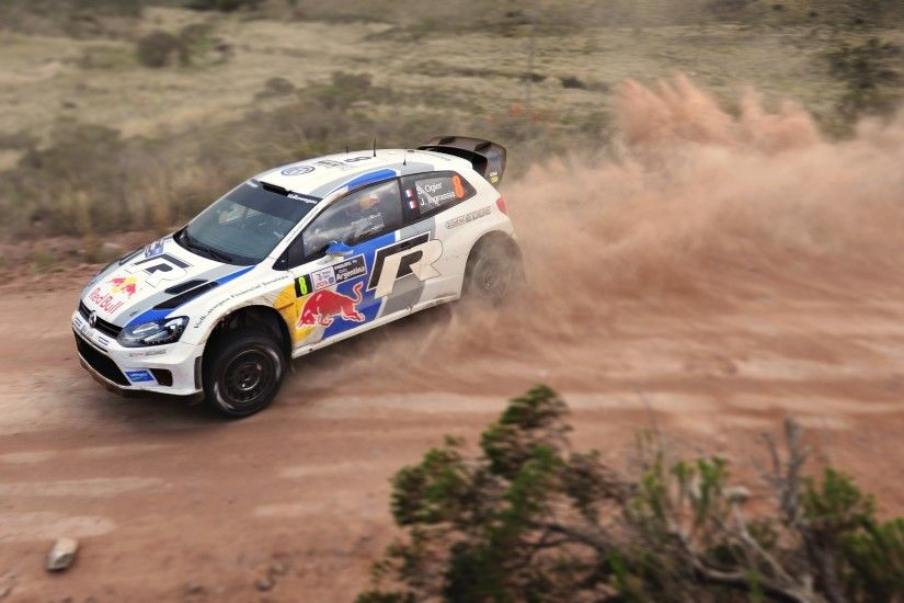 Volkswagen Polo WRC Rally Sports Car Wallpaper - http://www.gbwallpapers.