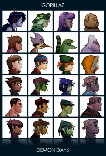 Gorillaz, Adventure Time, Regular Show, South Park, Vertical, Teen Titans,  Team Fortress 2, Crossover, Medic, Sniper (TF2), Heavy (charater), Murdoc  Niccals ...