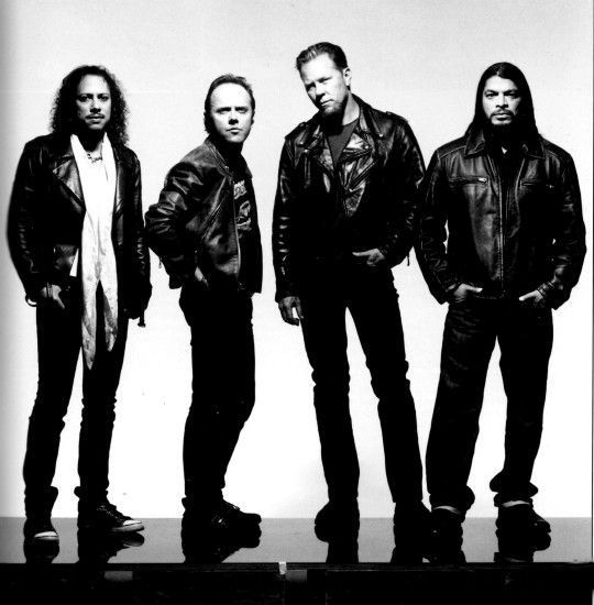 Metallica- My absolute favorite band.