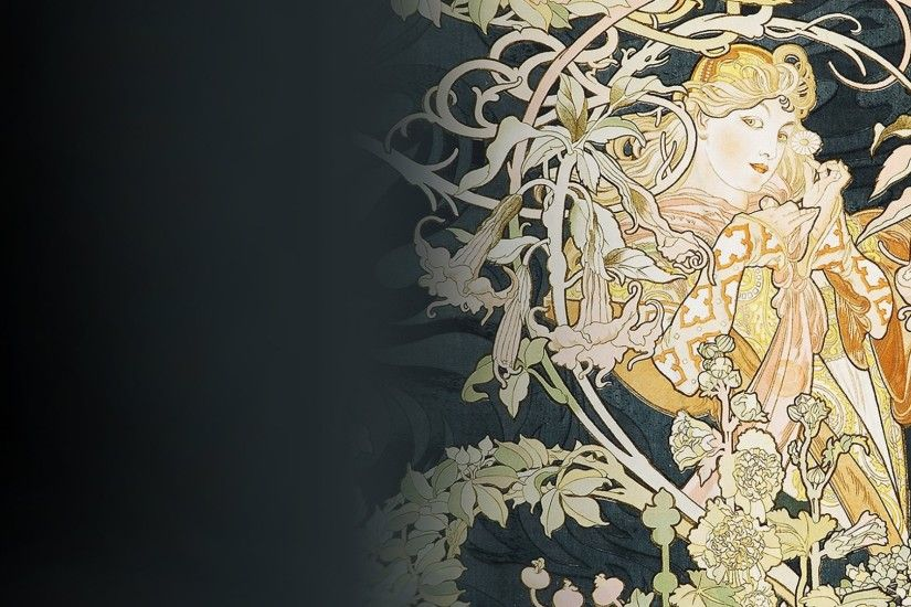 Alphonse Mucha wallpaper
