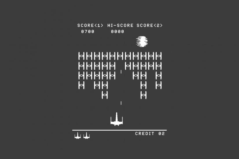 Star Wars, Space Invaders Wallpaper HD