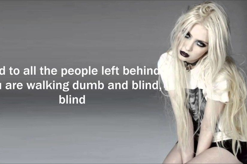 The pretty reckless - Zombie [LYRICS]