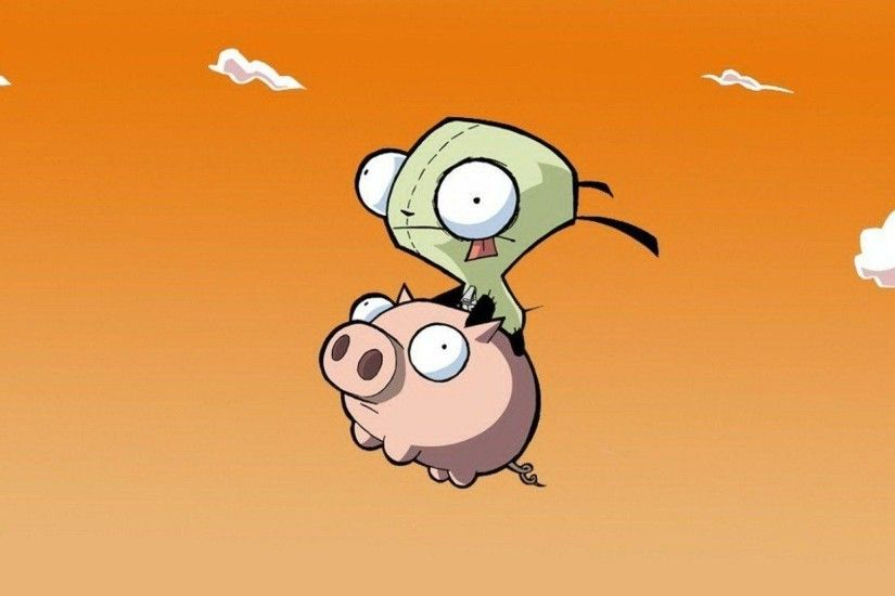 Invader Zim Wallpapers Wallpaper Cave Source · Pin Invader Zim Wallpaper  Gir 640x330jpg on Pinterest
