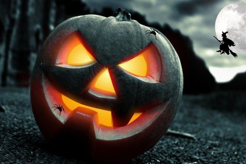 Jack O Lantern Free Desktop Themes #14978 Wallpaper | Risewall.