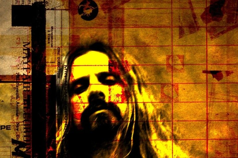 3840x1200 Wallpaper rob zombie, graphics, soloist, name, font