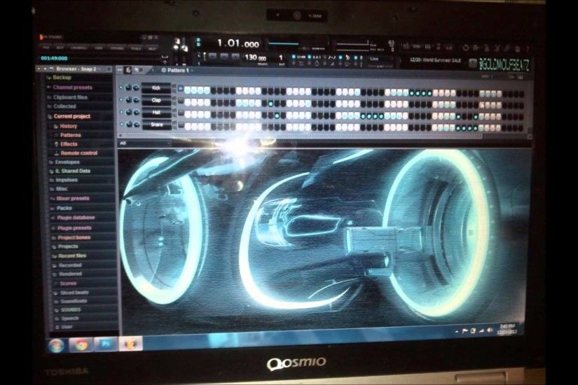 tron skin fl studio skin CUSTOM STAND OUT FROM THE CROWD READ DESCRIPTION -  YouTube