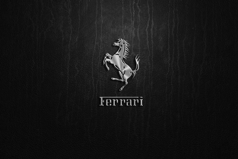 Ferrari Logo Widescreen Wallpaper 58916