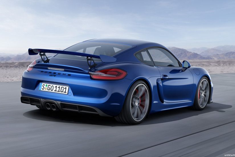 Porsche Cayman GT4 car wallpapers ...