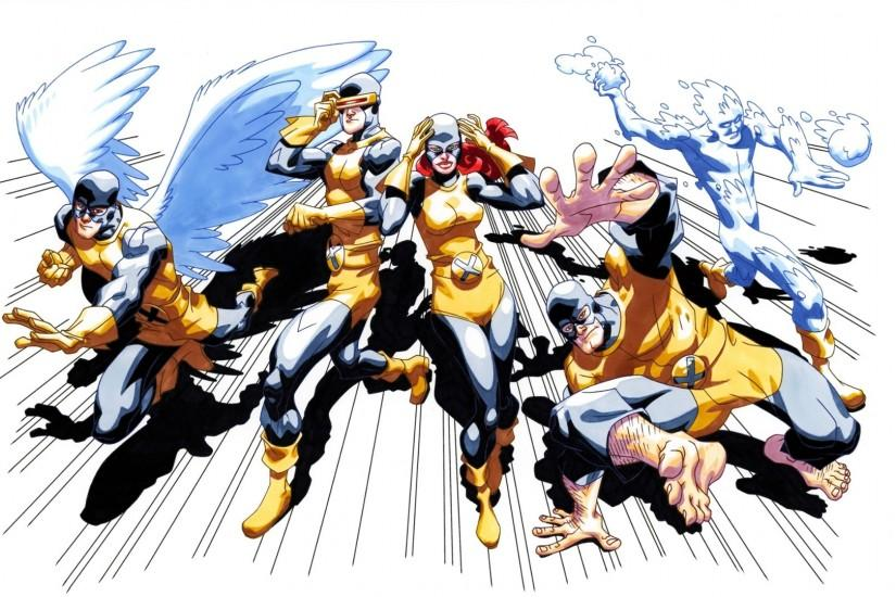 Comics - X-Men Angel Cyclops Iceman (X-Men) Wallpaper