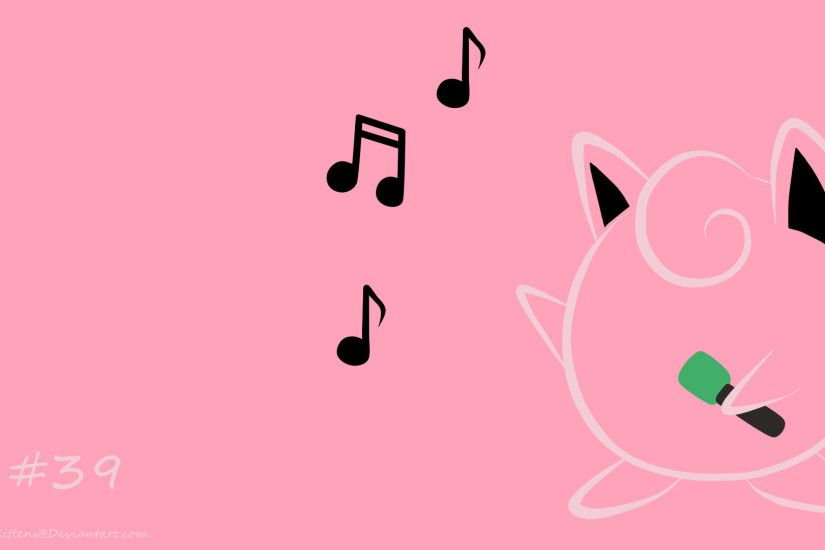 Jigglypuff wallpaper ALT by About12Kittens Jigglypuff wallpaper ALT by  About12Kittens