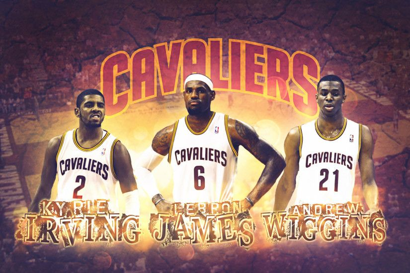 Cleveland Cavaliers 2014 Big Three Wallpaper