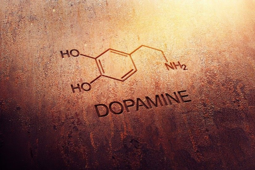 Abstract Caffeine Chemistry Digital Art Dopamine Knowledge Molecules Rusted  Science