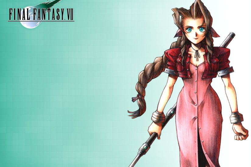 Wallpaper; Aerith; 1920 x 1200 · 1920 x 1080 · 2048 x 1536